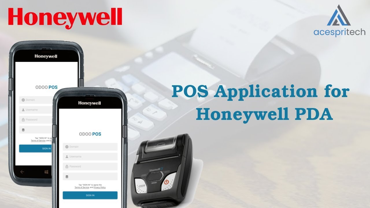 Odoo POS Android Application for Honeywell PDA with Bluetooth Printer by  ACESPRITECH SOLUTIONS