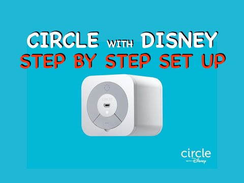 Circle With Disney - Step By Step Set Up