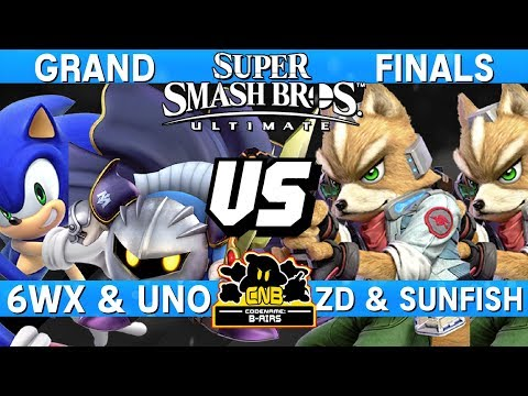 Smash Ultimate Doubles Tournament Grand Finals - 6WX + Uno v
