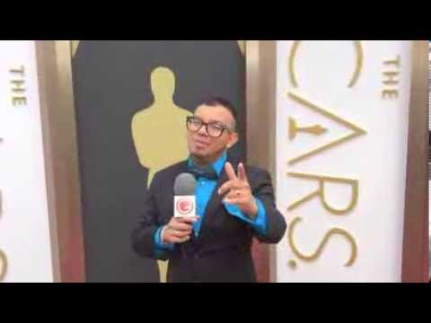 Oscars 2014 red carpet arrivals Alberto Angulo The guardian liberty Vocie
