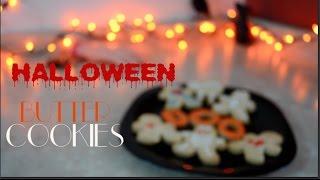 Galletas de Mantequilla Para Halloween 🎃( 3 Ingredientes) Butter Halloween Cookies  ⎪TRENDY WENDY 💋 Thumbnail
