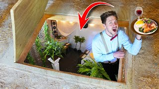 We Opened An Underground Restaurant! *Bunker*