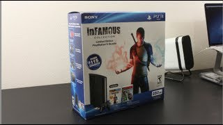 Christmas Giveaway! Ps3 Slim 250 GB Infamous Collection Bundle (GIVEAWAY IS OVER)