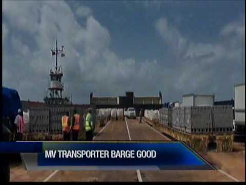Minister Of Transport Says MV Transporter Barge In Good Condition