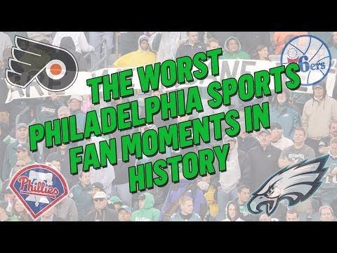 PHILLY FANS SUCK?!   The WORST Philadelphia Sports Fan Moments In History
