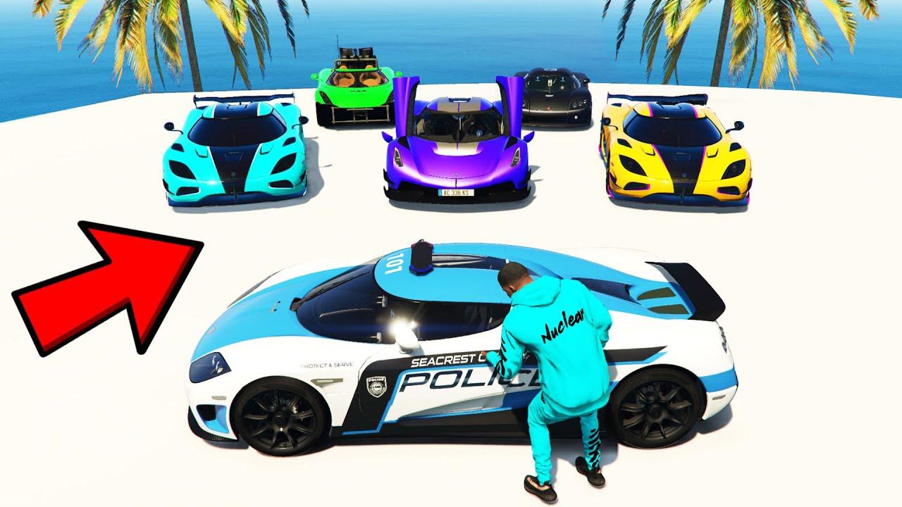 Stealing SUPER RARE BILLIONAIRE KOENIGSEGG'S in GTA 5! (GTA V Car Mods Collecting)