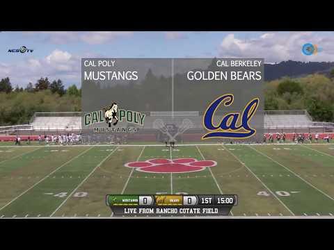 Cal Poly, San Luis Obispo vs University of California, Berkeley Men's Lacrosse LIVE 4/29/18