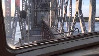 Crossing the Cape Cod Railroad Bridge in SLC 274