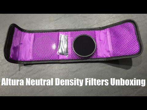 Altura ND Filter Set (ND2, ND4 & ND8) Unboxing