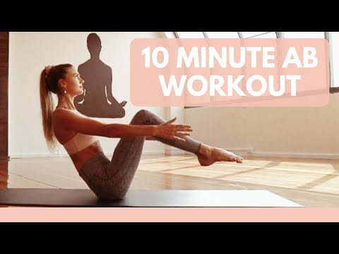 10 minute Ab Workout Yoga Abs