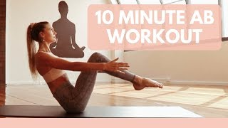 10 minute Ab Workout - Yoga Abs