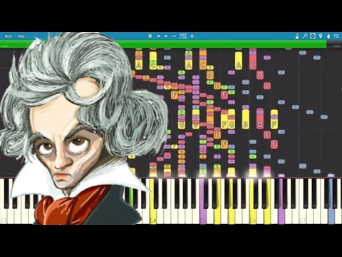 IMPOSSIBLE REMIX  Für Elise  Ludwig Van Beethoven  Piano
