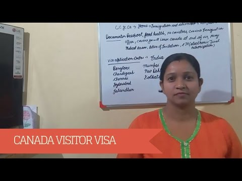 Canada Visitor Visa 2017 : Easiest Way to Apply for Tourist visa to Canada