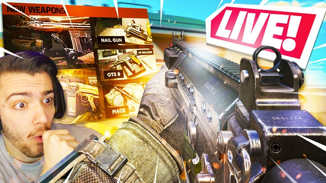 *NEW* SEASON 4 UPDATE! (NEW DLC WEAPONS, BATTLE PASS, & MAPS) - Black Ops Cold War / Warzone
