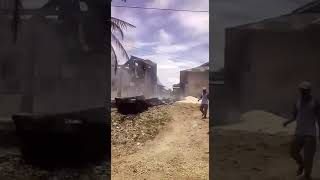 Insiden pembakaran rumah di tual