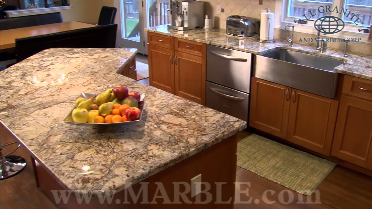 Golden namibia granite kitchen countertops by for Kitchen designs namibia