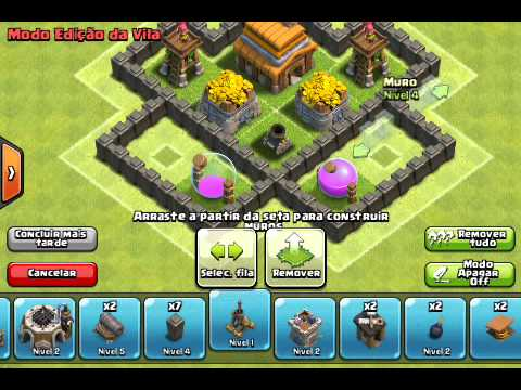 layout cv 4 - Layout Cv 4 Clash Of Clans