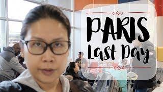 終於都返香港 + 法國機場退稅 [法國巴黎自由行Last Day] | 黑咪 #Vlogmas