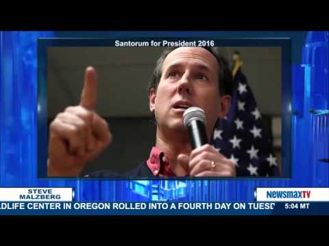 Malzberg   Rick Santorum discusses his campaign, Trump, Obama and guns, and Hillary and Bill