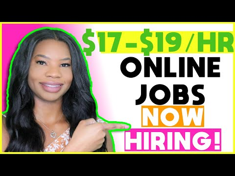 🤑 $17-$19 HOURLY Work-From-Home Jobs! Paid Training + No Experience Required | Apply TODAY!
