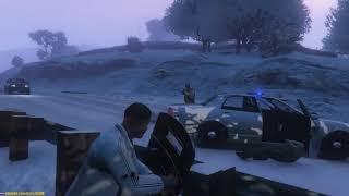 GTA 5 - War with Police