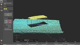 O3D 3D sensor – Volume determination