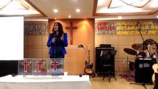 Kesaksian artis 80an Ibu Nindy Ellesse bersama GPdI Hati Elok Korea