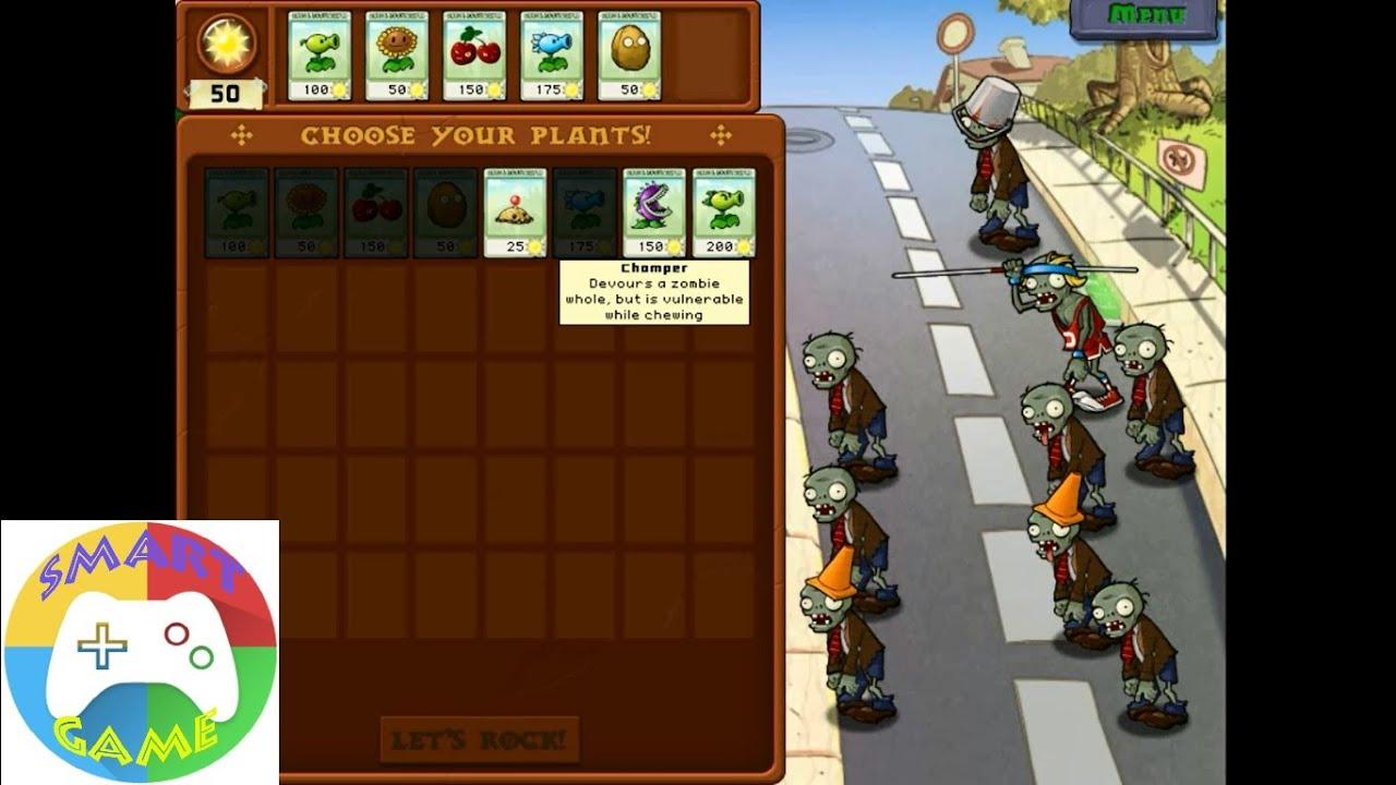 Plants vs Zombies: PVZ 2 Level 1 to 9 - Plants vs Zombies 2 ( Smart ...