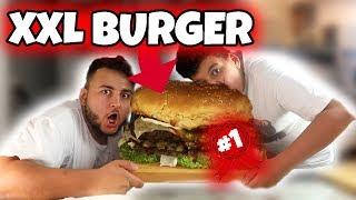 😱10KG BURGER gemacht und gegessen 🍔 (Weltrekord) | Can Wick