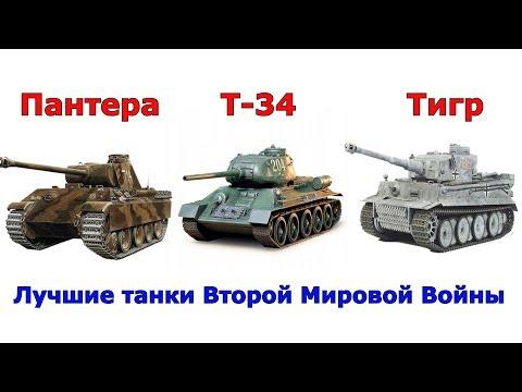 Сравнение лучших танков Второй Мировой Войны