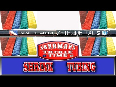 Sandmans Tackle Time How To Replace Shrink Tube On A Zziplex
