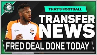 FRED To MAN UTD TODAY? Latest Transfer News