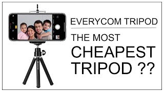 Cheapest Tripod In The World ???