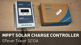 Affordable MPPT Solar Charge Controller - EPever Tracer 3210A