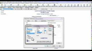 Creating & Customizing a Profit & Loss Report in QuickBooks