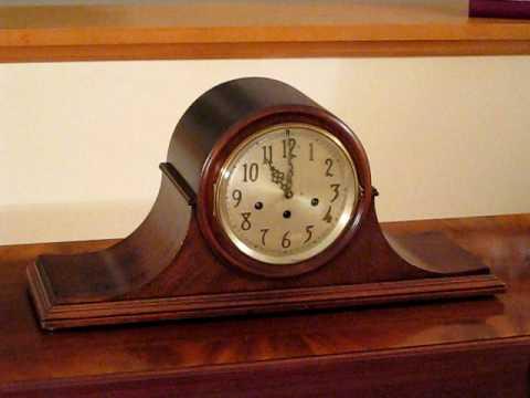 Seth Thomas Chime 75 Elegant 8 Day Westminster Mantle Clock You