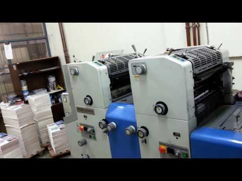 Ryobi 3304HA 4 colours printing press