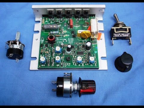 How To Test & Fit A Potentiometer Speed Controller On The Chinese Mini Lather
