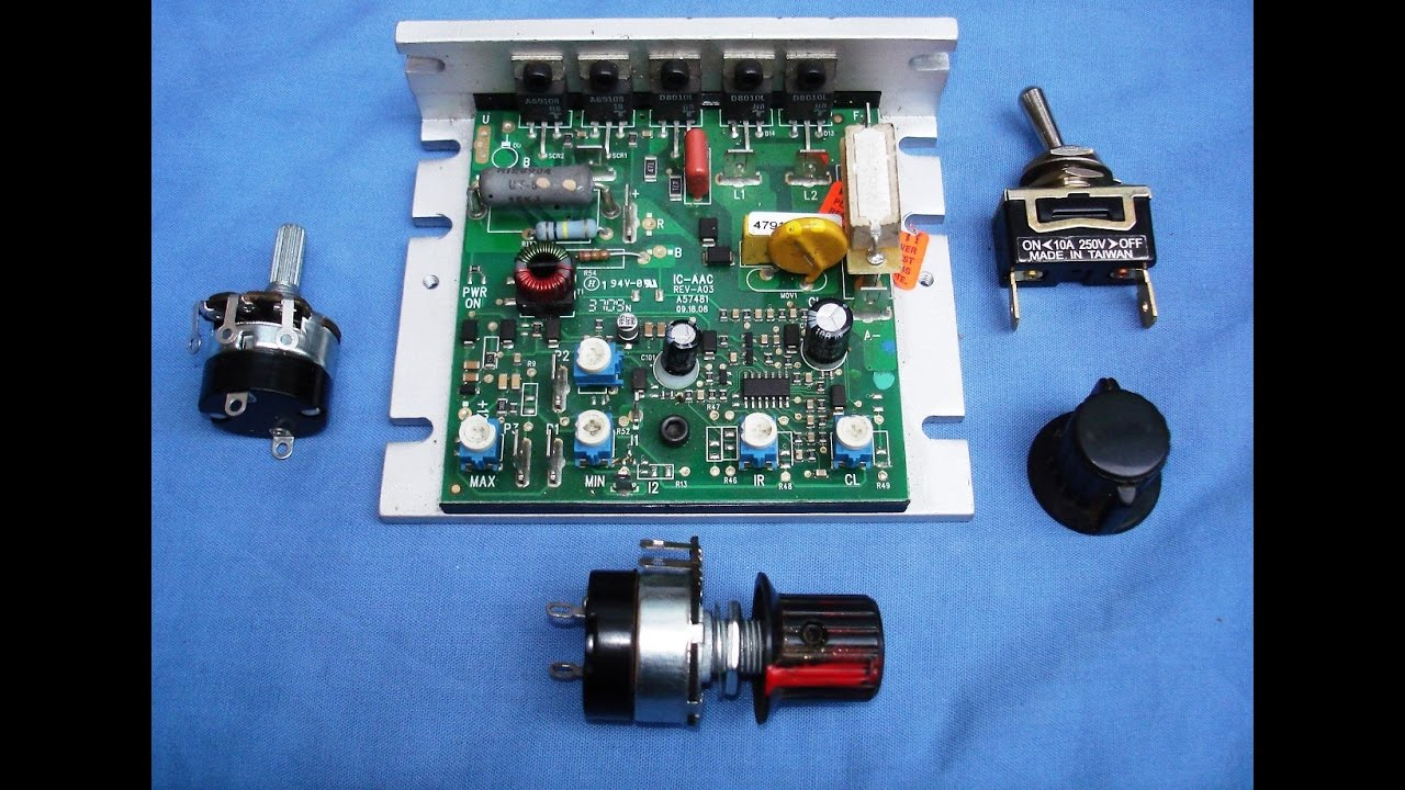 Kb Mini Lathe Speed Controller Circuit Board
