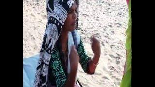 Индия  Гоа  Пляж Арамболь