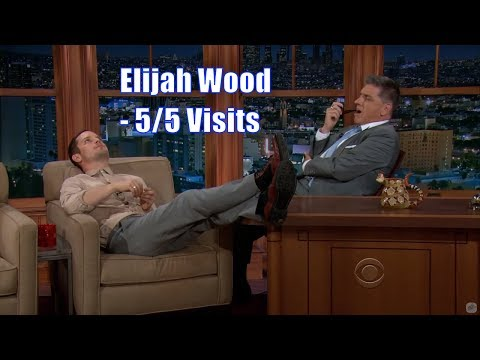 Elijah Wood - Quite A Spontaneous Guy - 5/5 Visits In Chronological Order [720p]