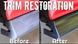 How To CLEAN and Restore Black Plastic Trim!