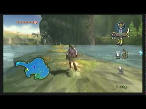 "Legend of Zelda Twilight Princess Walkthrough 09 (3/7) ""Lake Hylia: Iza & The Golden Wolf"""