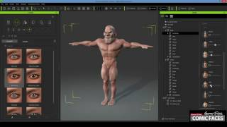 Step 5 - Garry Pye Tutorial Article - Morphing Body in Character Creator