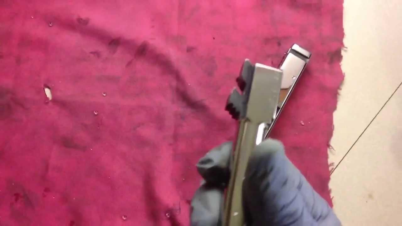 Glock 22 Mirror Polished Slide Polishing Barrel Gun Ryan Burick
