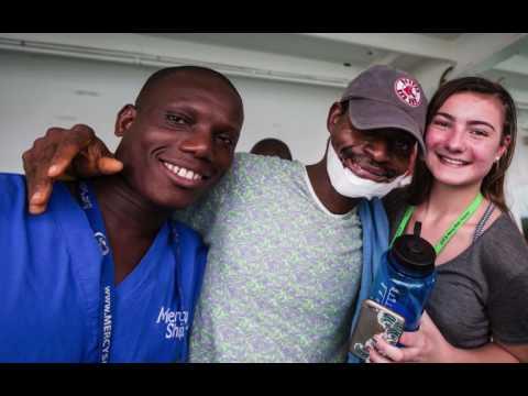 GF's Mercy Ships trip to Benin