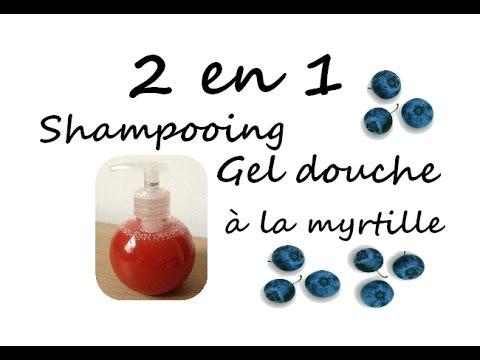 2 en 1 shampooing & gel douche à la myrtille