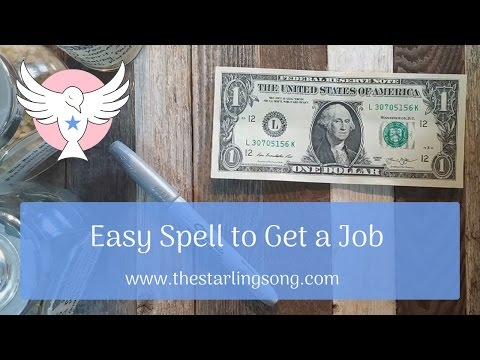 Easy Spell to Get a Job
