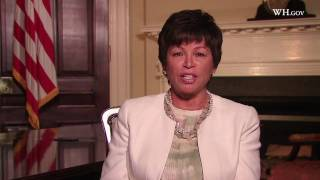 Valerie Jarrett Introduces the Council on Women and Girls Website