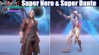 DMC 5 Super Dante & Super Nero Unlocked Showcase - Devil May Cry 5 2019